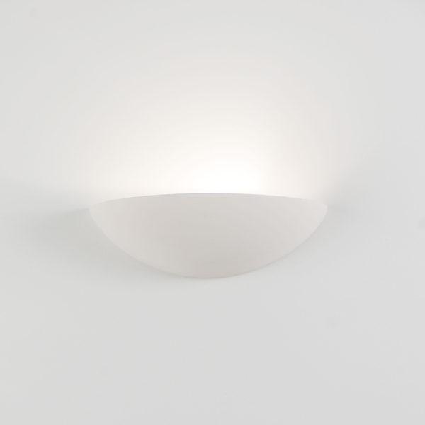 Applique ceramica bianco tinteggiabile