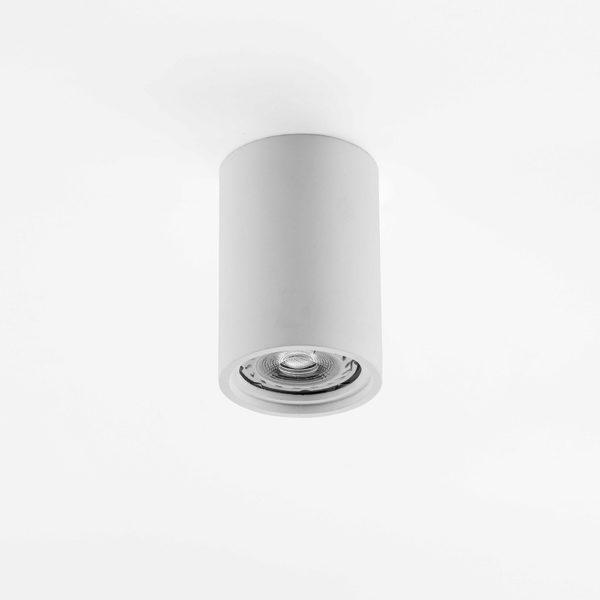 Plafone in gesso cilindrico