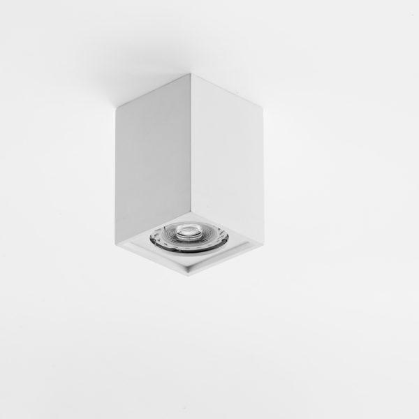 Plafone in gesso prismatico
