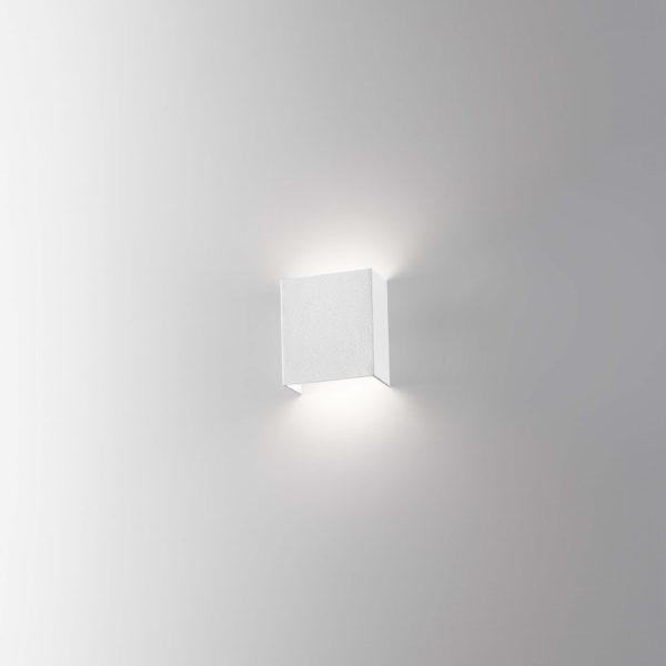 Applique in alluminio a LED bianco