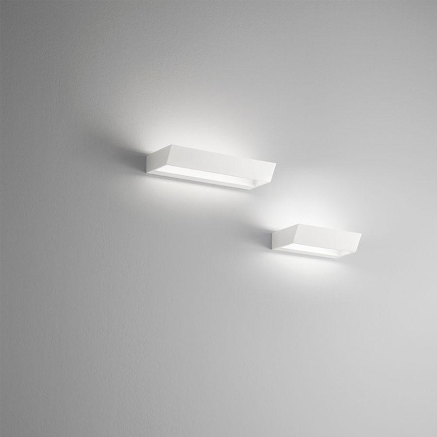 Lampada a LED in alluminio bianco