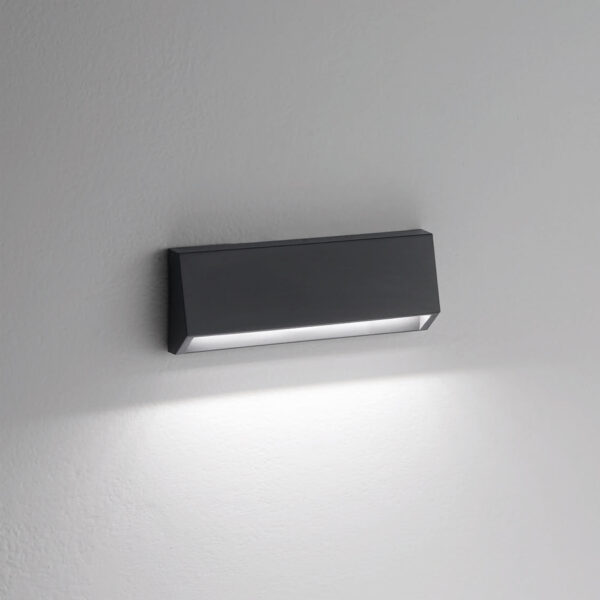 PC/ABS wall-steplight 303 e-seaLED - Anthracite - 4000K / 210lm