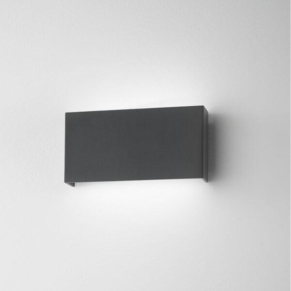 Lampada da parete in alluminio Bar 54 - Antracite